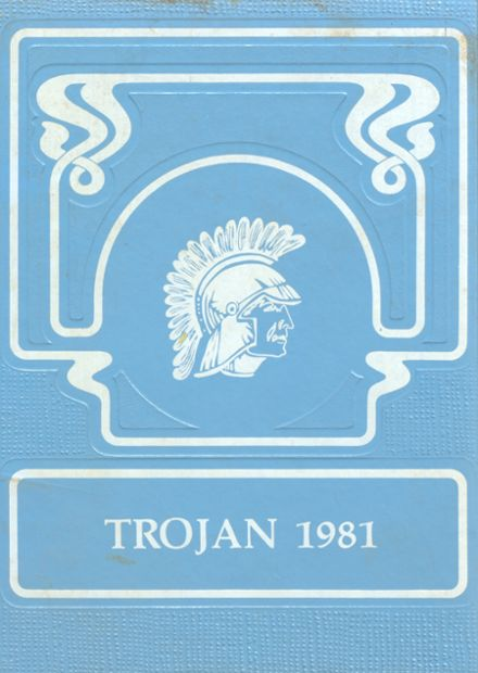 1981 Triopia High School Yearbook Cover