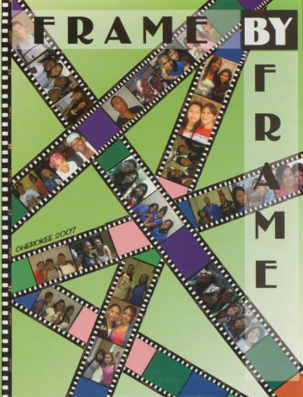 2007 Sam Houston High School Yearbook Cover