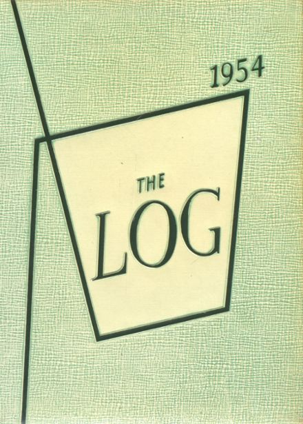 1954 Stratford High School Yearbook Cover
