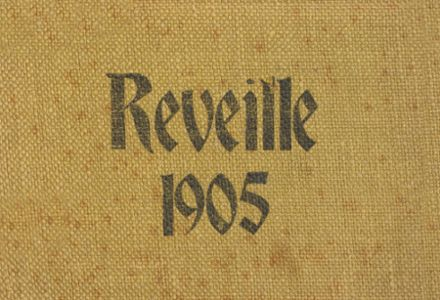 1905 Chester High School Yearbook Cover