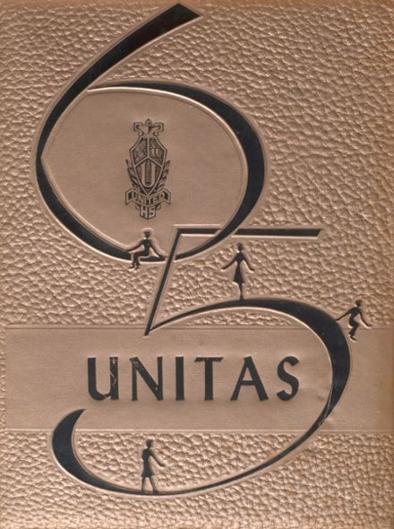 1965 United Local High School Yearbook Cover