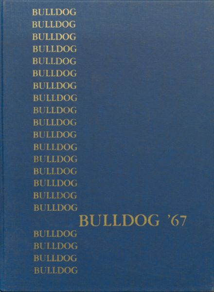 1967 West Albany High School Yearbook Cover