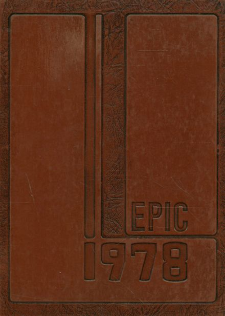 1978 Alexandria High School Yearbook Cover
