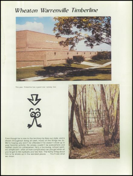 1982 Wheaton - Warrenville South High School Yearbook Page 5