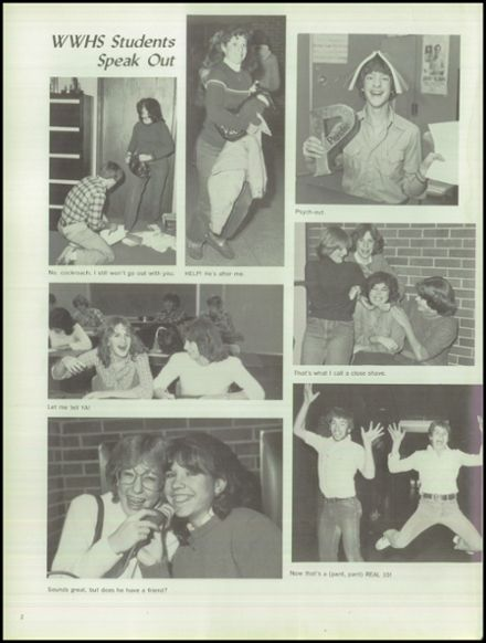 1982 Wheaton - Warrenville South High School Yearbook Page 6