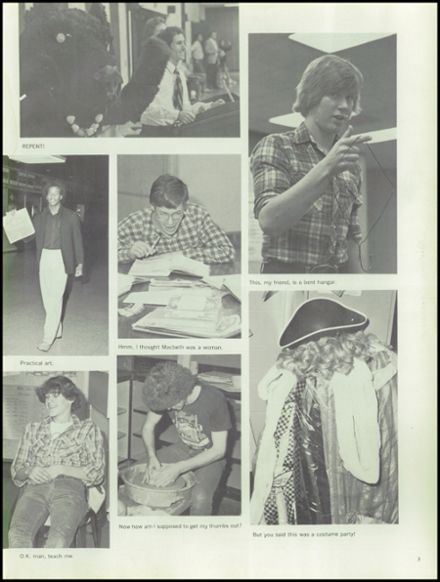 1982 Wheaton - Warrenville South High School Yearbook Page 7