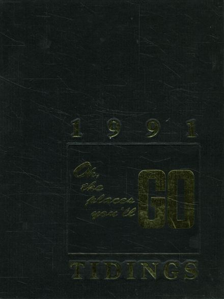 1991 Hanna High School Yearbook Cover
