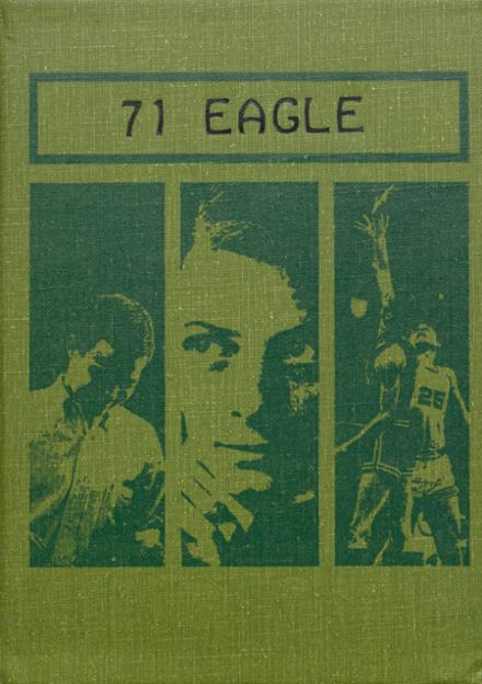 1971 Stratton High School Yearbook Cover