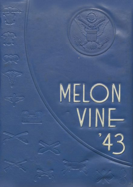 1943 Weatherford High School Yearbook Cover