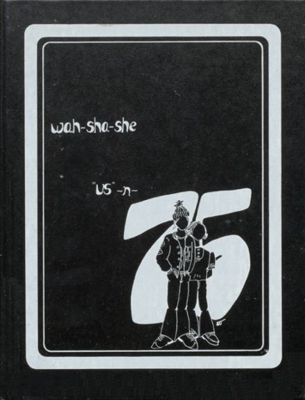 1975 Pawhuska High School Yearbook Cover