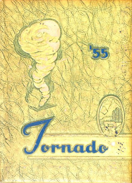 1955 Richlands High School Yearbook Cover