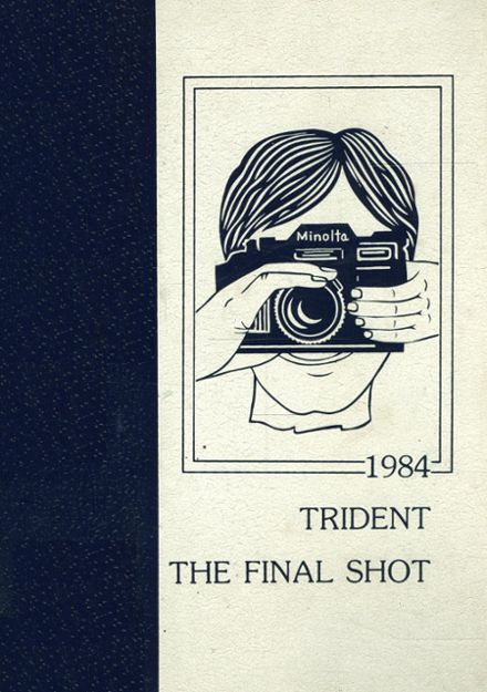 1984 Onancock High School Yearbook Cover