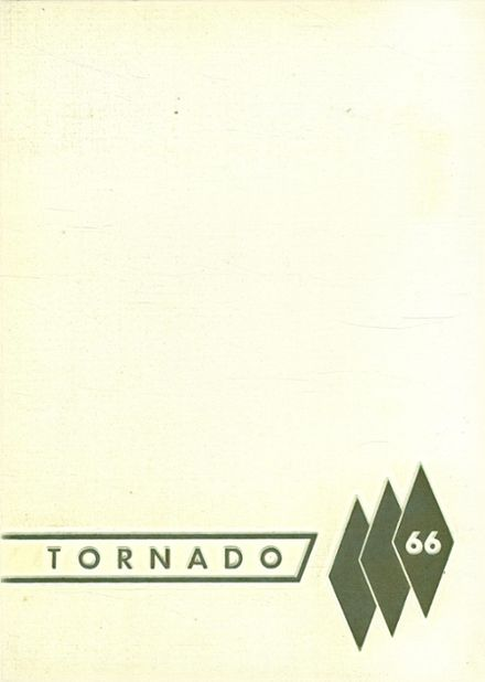 1966 Lamesa High School Yearbook Cover