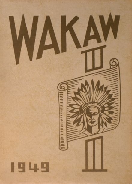 1949 Wamego High School Yearbook Cover