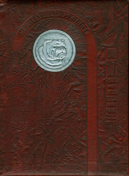 1953 St. Anthony of Padua High School Yearbook Cover