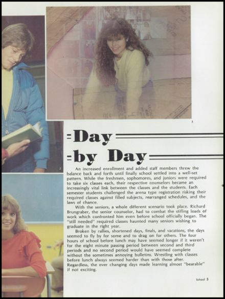 1983 Del Campo High School Yearbook Page 9