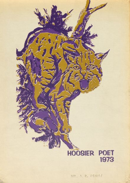 1973 James Whitcomb Riley High School Yearbook Cover