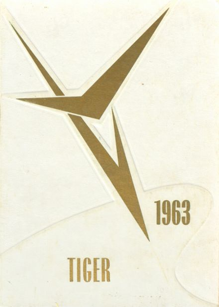 1963 Medford High School Yearbook Cover