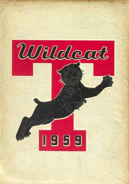 1959 Tullahoma High School Yearbook Cover