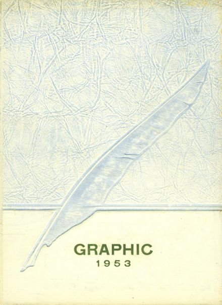 1953 Liverpool High School Yearbook Cover
