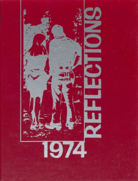 1974 Brighton High School Yearbook Cover