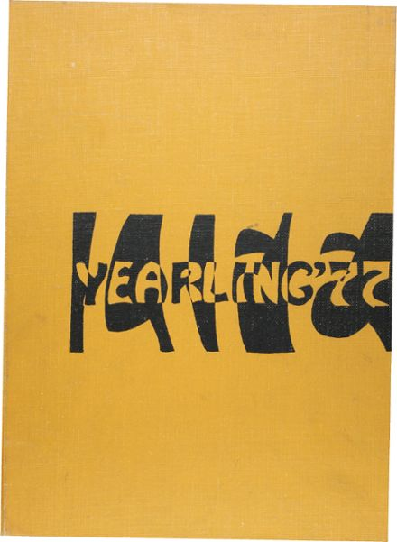 1977 Campus High School Yearbook Cover