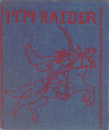 1974 Cleveland High School Yearbook Cover