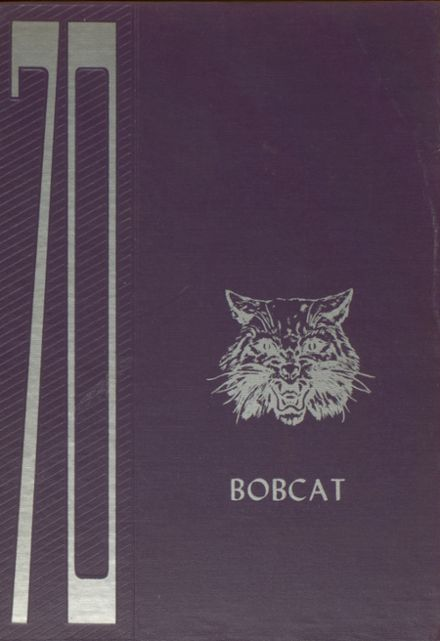 1970 Grand Community High School Yearbook Cover