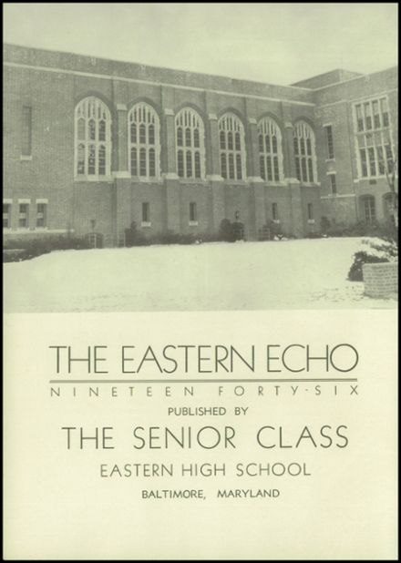 1946 Eastern High School Yearbook Page 6