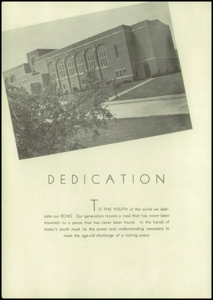 1946 Eastern High School Yearbook Page 8