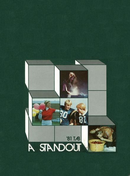 1981 Lyons Township High School Yearbook Cover