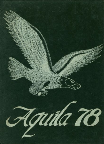 1978 Hokes Bluff High School Yearbook Cover