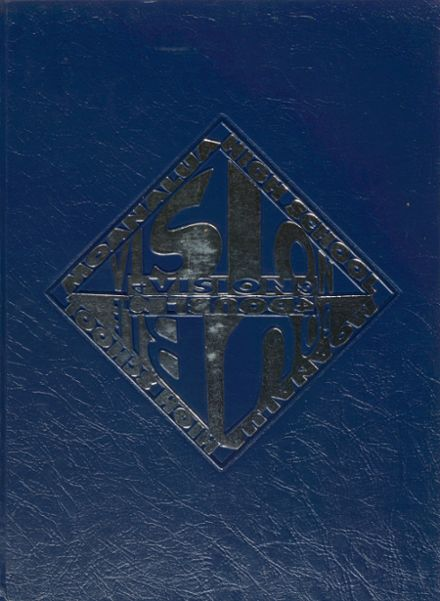 1994 Moanalua High School Yearbook Cover