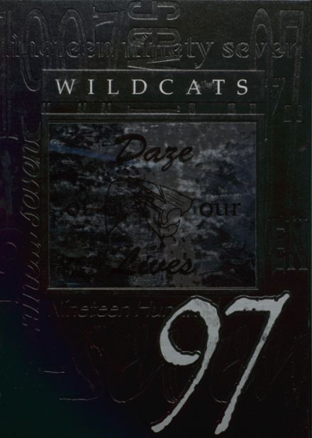 1997 North Union High School Yearbook Cover