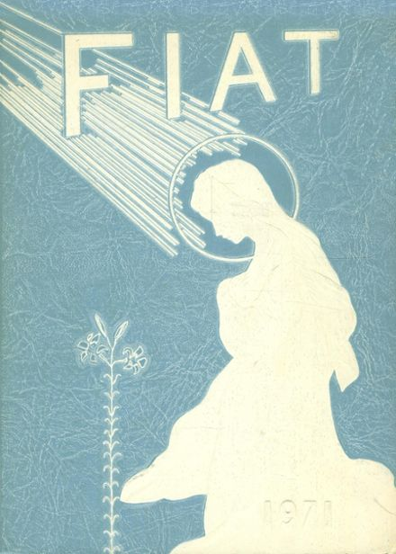 1971 Ancilla Domini Academy Yearbook Cover