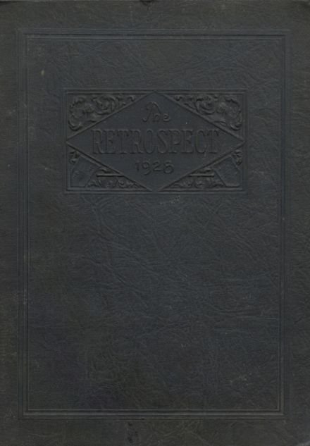 1928 Blume High School Yearbook Cover