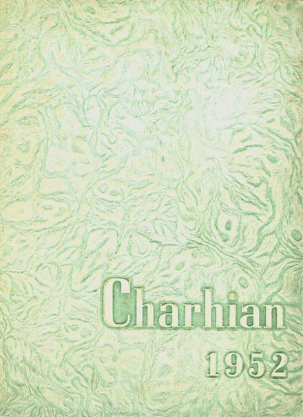 1952 Charlotte High School Yearbook Cover