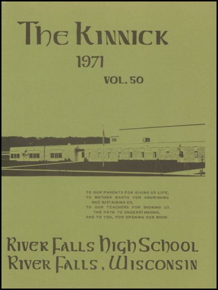 1971 River Falls High School Yearbook Page 5