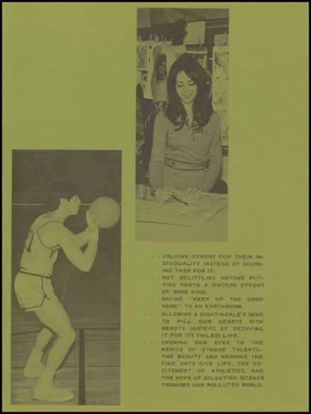 1971 River Falls High School Yearbook Page 7