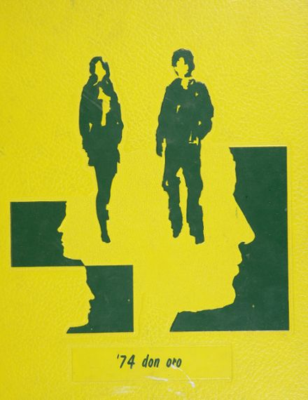1974 Norte Del Rio High School Yearbook Cover
