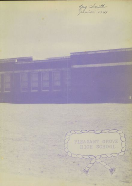 1949 Pleasant Grove High School Yearbook Page 3