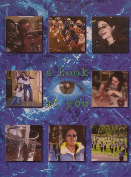 2003 Ravenna High School Yearbook Cover