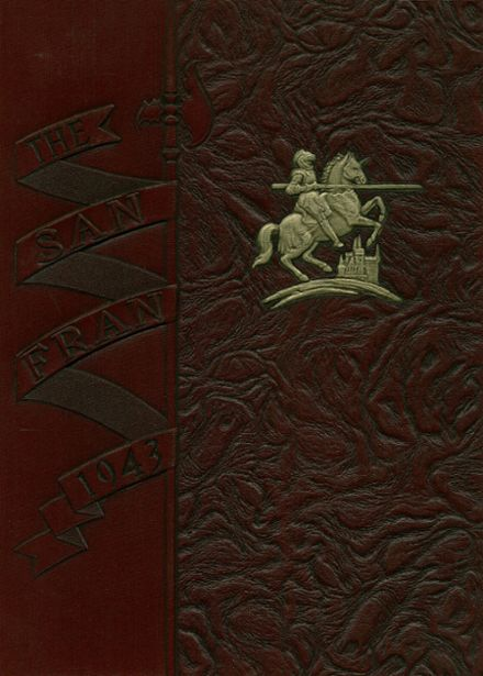 1943 St. Francis Preparatory Yearbook Cover