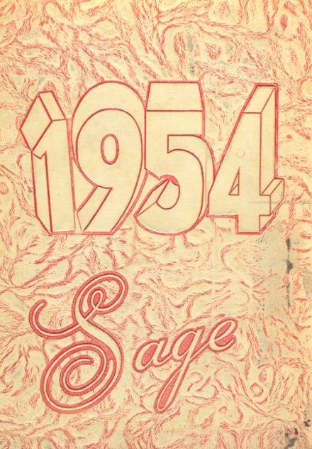 1954 Nampa High School Yearbook Cover