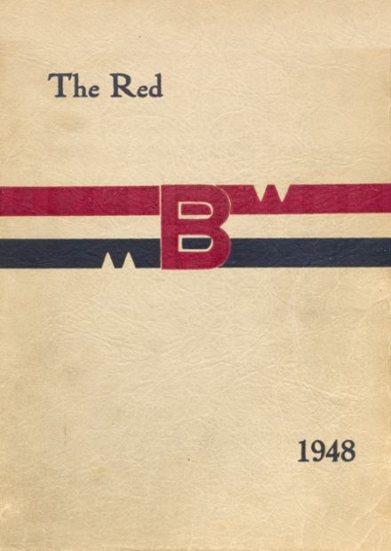 1948 Brodhead High School Yearbook Cover