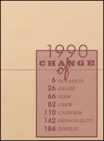 1990 Silver Lake High School Yearbook Page 3