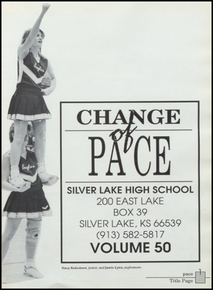 1990 Silver Lake High School Yearbook Page 5
