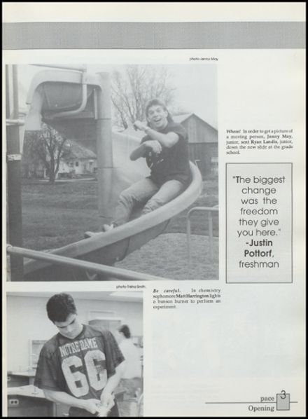 1990 Silver Lake High School Yearbook Page 7