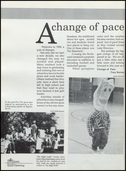 1990 Silver Lake High School Yearbook Page 8