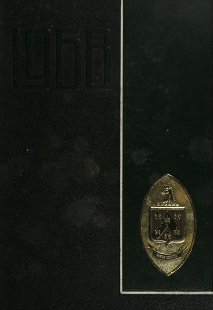1968 Hockaday High School Yearbook Cover